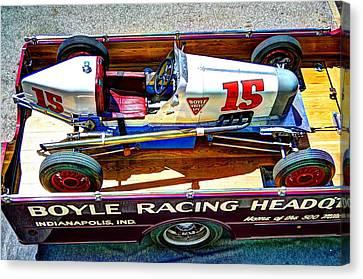 1927 Miller 91 Rear Drive Racing Car Canvas Print