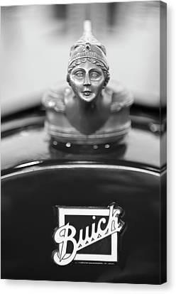 1928 Buick Custom Speedster Hood Ornament 4 Canvas Print by Jill Reger