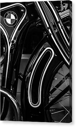 Bmw Canvas Print - 1929 Bmw R11 by William Jones