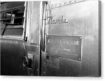 1930 Bambi Travel Trailer Canvas Print by David Lee Thompson
