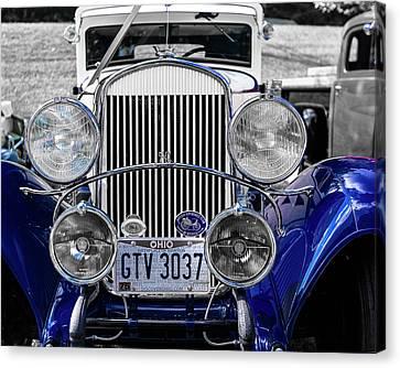 1930 Chryaler 70 Coupe Canvas Print