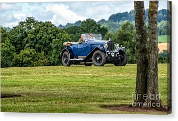 1930 Delage D8 Canvas Print by Adrian Evans