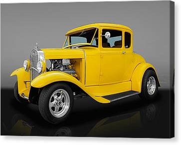 1930 Ford Coupe Canvas Print