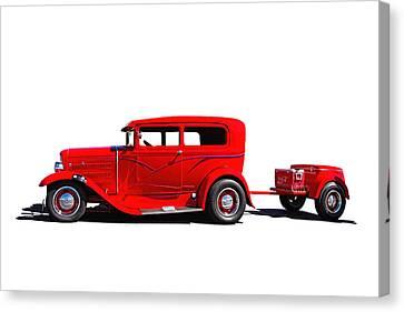 1930 Ford Sedan Canvas Print