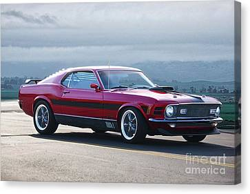 1930 Mustang Mach I Fastback Canvas Print