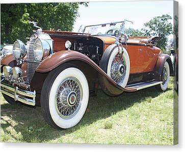 1930 Packard Convertible Roadster Canvas Print by John Telfer