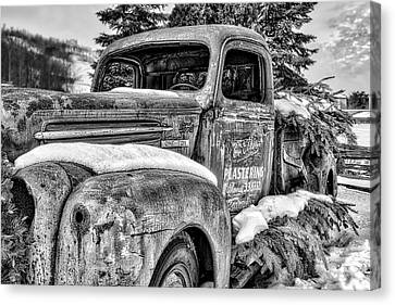 1930's Ford One Ton Canvas Print