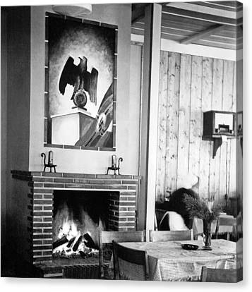 1930's German Gasthaus Canvas Print by Charles Meagher