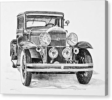 1931 Buick Canvas Print by Daniel Storm