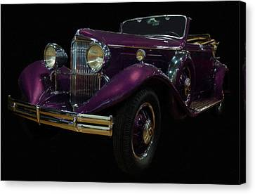 1931 Reo Royale Digital Oil Canvas Print by Chris Flees