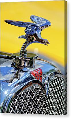 1932 Alvis Hood Ornament Canvas Print by Jill Reger