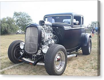 1932 Ford Muscle Car Coupe Canvas Print by John Telfer