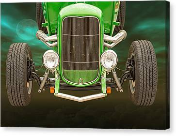 1932 Ford Roadster Color Photographs And Fine Art Prints 001.02 Canvas Print by M K  Miller