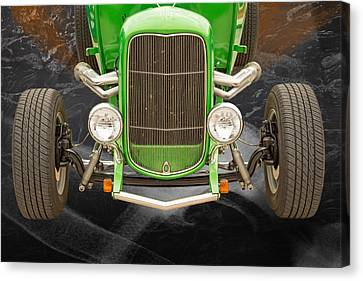 1932 Ford Roadster Color Photographs And Fine Art Prints 002.02 Canvas Print by M K  Miller