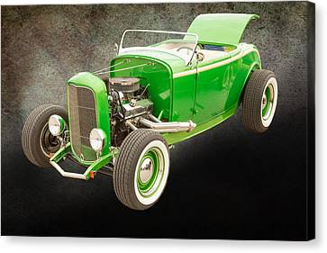 1932 Ford Roadster Color Photographs And Fine Art Prints 003.02 Canvas Print by M K  Miller