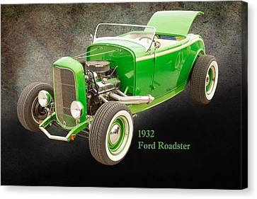 1932 Ford Roadster Color Photographs And Fine Art Prints 004.02 Canvas Print by M K  Miller