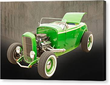 1932 Ford Roadster Color Photographs And Fine Art Prints 005.02 Canvas Print by M K  Miller