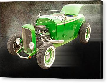 1932 Ford Roadster Color Photographs And Fine Art Prints 007.02 Canvas Print by M K  Miller