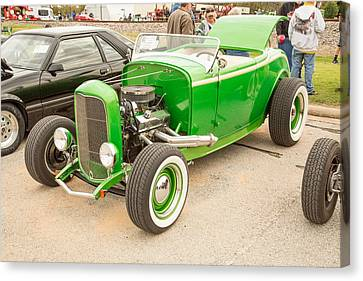 1932 Ford Roadster Color Photographs And Fine Art Prints 009.02 Canvas Print by M K  Miller
