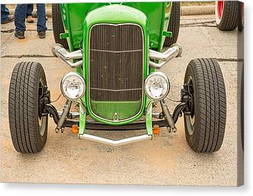 1932 Ford Roadster Color Photographs And Fine Art Prints 010.02 Canvas Print by M K  Miller