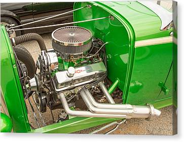 1932 Ford Roadster Color Photographs And Fine Art Prints 011.02 Canvas Print by M K  Miller