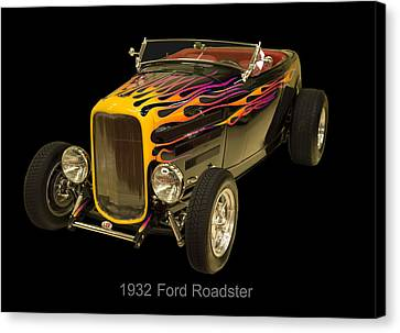 1932 Ford Roadster Hot Rod Canvas Print by Chris Flees