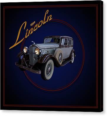 1932 Lincoln Canvas Print