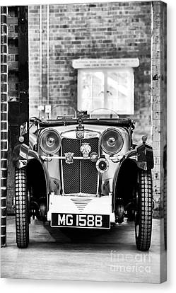 1932 Mg Monochrome Canvas Print by Tim Gainey