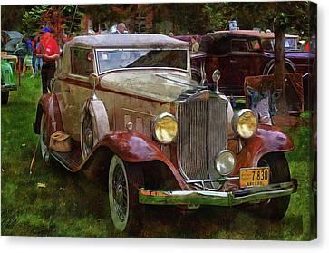 1932 Packard 900 Canvas Print by Thom Zehrfeld