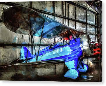 Gifts For Men Canvas Print - 1932 Waco Biplane by Thom Zehrfeld