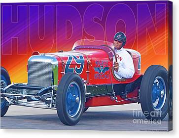 Canvas Print featuring the photograph 1933 Martz Special by Ed Dooley