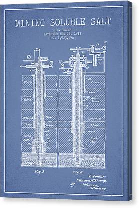 1933 Mining Soluble Salt Patent En40_lb Canvas Print by Aged Pixel