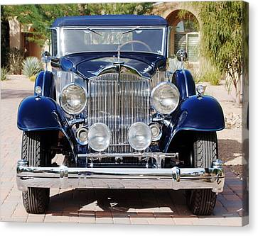 1933 Packard 12 Convertible Coupe Canvas Print