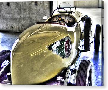 1933 Plymouth Indy Car #33 Canvas Print by Josh Williams