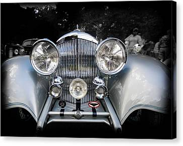 1934 Bentley Drop Head Coupe Canvas Print