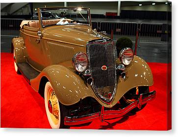1934 Ford Model 40 Deluxe Cabriolet Canvas Print by Wingsdomain Art and Photography