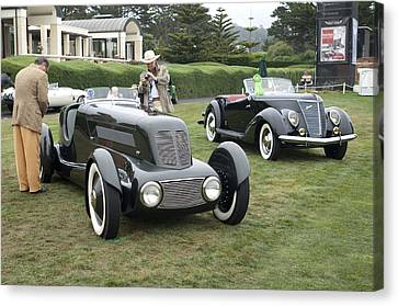 1934 Ford Model 40 Special Speedster Canvas Print by Jill Reger