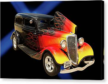 1934 Ford Street Rod Classic Car 5545.04 Canvas Print by M K  Miller