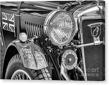 Canvas Print featuring the photograph 1934 Mg Pa Roadster by Dennis Hedberg
