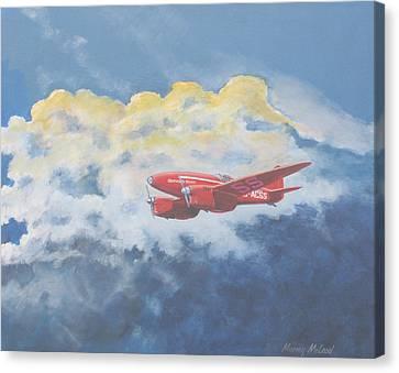 Aviationart Canvas Print - 1934 October Sunrise by Murray McLeod
