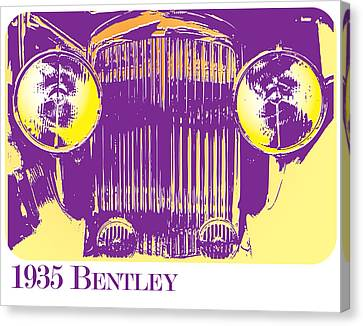 1935 Bentley Canvas Print