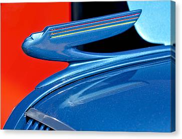 1936 Chevrolet Hood Ornament 2 Canvas Print