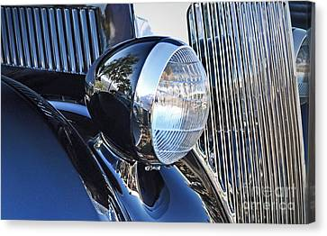 1936 Ford 2dr Sedan Canvas Print