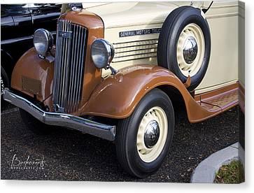 1936 Gmc Pickup Truck 1 Canvas Print