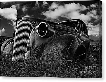 1937 Chevy Coupe Canvas Print by Peter Dang