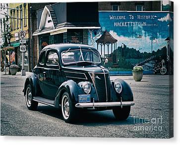 1937 Ford Sedan Canvas Print