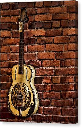1937 Metal Resonator Canvas Print
