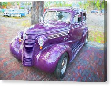 1938 Chevrolet 2 Door Sedan Deluxe C117  Canvas Print