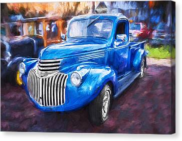 Pickup Truck Door Canvas Print - 1938 Chevrolet Pick Up Truck Painted  by Rich Franco