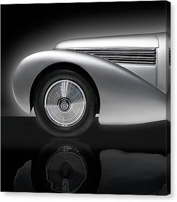 1938 Hispano Suiza H6b Xenia Canvas Print by Gary Warnimont